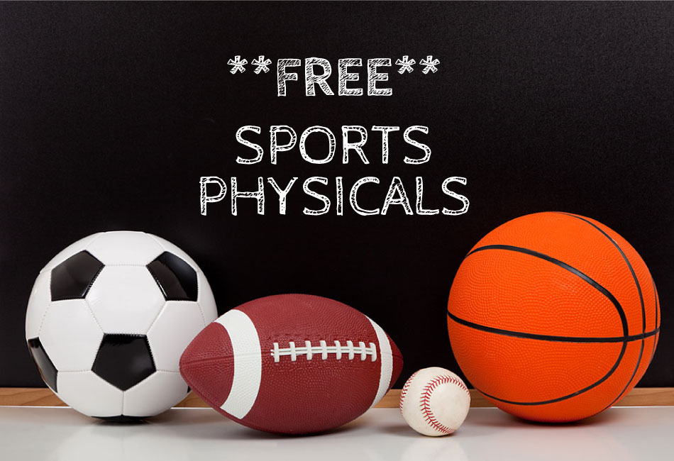 FREE HS & Jr.High Sports Physicals